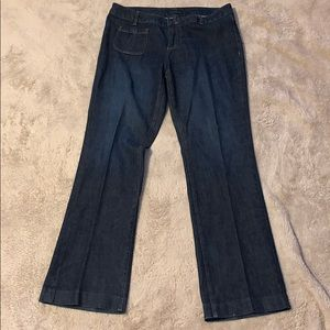 Banana Republic Flare Jeans Size 14